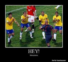 Haha soccer humor