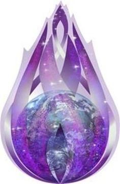 REIKI Energie Universelle - LA FLAMME VIOLETTE ARGENT