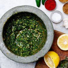 Gjusta's Green Harissa Recipe