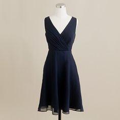 Navy blue Evie bridesmaid dress