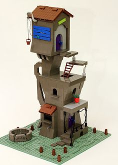 The Onceler's house made from Legos