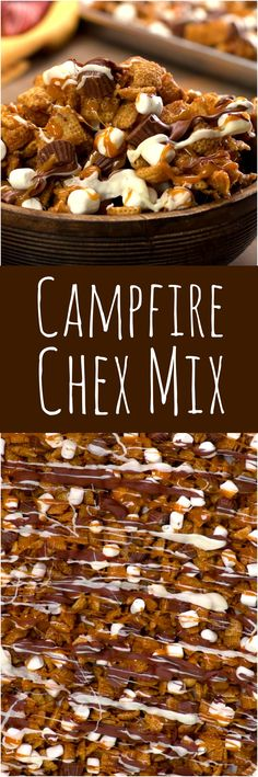 The perfect Chex Mix for camping and Summer gatherings.