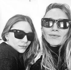 Mary-Kate and Ashley post their first ever selfie on Instagram as part of the Sephora x Elizabeth & James takeover campaign.Rise and shine. First public selfie ever