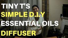 Tiny T's Essential Oils Diffuser