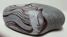 Modigliani Style Art Rock Original