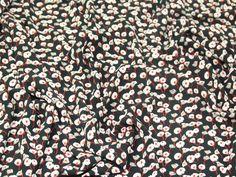 Floral Print Soft Polyester Dress Fabric | Fabric | Dress Fabrics | Minerva Crafts