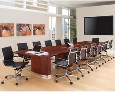 The Summit expandable conference tables offer the flexibility you need to optimize the design of your conference room facilities.