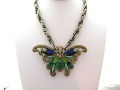 On Sale - Flawed Envy - From The Mariposa Collection - OOAK Vintage ...