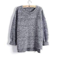 Womens Winter Loose Sweater