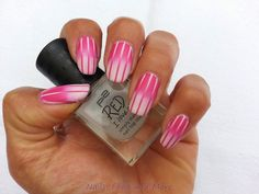 Nails, Food and More: Reverse Gradient mit Striping Tape