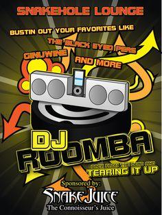 DJ Roomba fan art | Parks and Rec | #ParksandRec