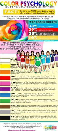 Color Infographic via http://www.hasneounique.com