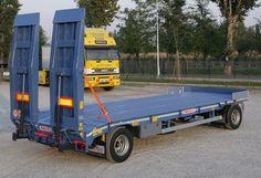 2R20 - ПРИЦЕП С ДВУМЯ ОСЯМИ  для транспортировки машин и строительной техники Trucks, Vehicles, Truck, Car, Vehicle, Tools