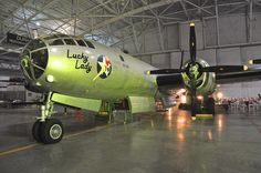 Lucky Lady, ready to take the lime-light by Strategic Air & Space Museum, via Flickr