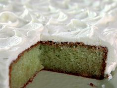 Trisha Yearwood just made this on her show the other day! looks great! Key Lime Cake from FoodNetwork.com