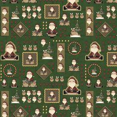 DN01 - Painel Papai Noel Fabricart Tecidos -  Estampa Digital