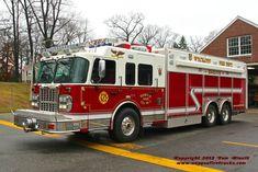 Wyckoff, NJ FD Rescue 242 2010 Spartan/Rescue 1 Heavy Rescue Squad.
