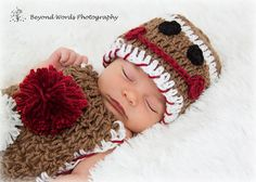 READY TO SHIP Crochet Baby Hat and Cuddle Blanket by BrightCrochet, $25.00