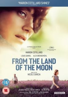 MAL DE PIERRES/FROM THE LAND OF THE MOON (15) 2016 FRANCE  GARCIA, NICOLE £18.99    Romance set in 1950s France and based on the Milena Agus novel.   Free-spirited Gabrielle has to choose between her dependable Spanish farmer husband or  recovering war veteran André.   DVD available from-  http://www.worldonlinecinema.com/Home/french-dvds