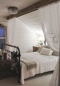 Sweet Master Bedroom Decor Ideas and Remodel – Sweet Master Bedroom … – Bedroom Inspirations Attic Master Bedroom, Attic Bedroom Designs, Romantic Master Bedroom, Upstairs Bedroom, Stylish Bedroom, Master Bedroom Design, Modern Bedroom, Interior Design Living Room, Bedroom Decor