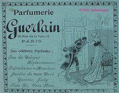 Rare Publicite Ancienne DE 1900 Parfum Guerlain Parfumerie Perfume AD Advert | eBay
