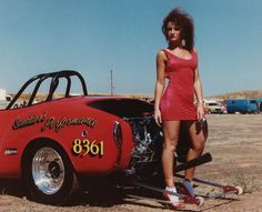 80's Karmann Ghia drag car