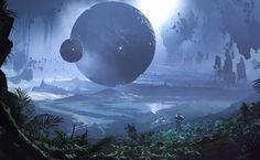Scifi World Fantasy Wallpaper | HD Wallpaper Hunter