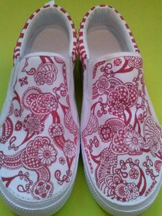 Sharpie Shoes Freehand Abstract Art Made To Order OOAK Mens Womens Kids Infants