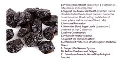Nutrition Facts & Health Benefits of Prunes