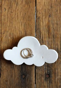 Cloud trinket dish