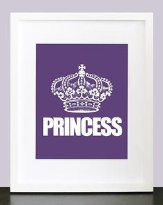 Princess Wall Art  8x10 Custom Wall Print Poster by mateoandtobias, $16.00