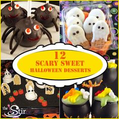 12 Spooky Halloween Treats That'll Have the Kids Howling for More | These are so fun for your kids' Halloween parties!