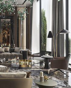 House Paint Interior, Apartment Interior Design, Luxury Interior Design, Interior Design Living Room, Living Room Designs, Living Room Decor, Elegant Home Decor, Luxury Home Decor, Luxury Homes