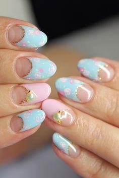Pastel Flower Patterns.