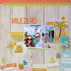 Mile+Zero - Simple Stories - You Are Here Collection