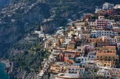 """POSITANO"" on The AMALFI COAST. It's Heaven on Earth. Gorgeous. Read about The Amalfi Coast and the wonderful Food of the region which includes Napoli (Naples, Italy) Great Stories and RECIPES in Daniel Bellino Zwicke's new book   ""La TAVOLA"" on Italian and Italian-American Food and Rituals of The ITALIAN TABLE .. now on AMAZON .com  at    http://www.amazon.com/La-TAVOLA-Adventures-Misadventures-American/dp/1463618123"