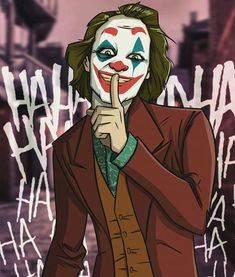 Joker / Joaquin Phoenix by Kevin Josué Le Joker Batman, Joker Comic, Joker Heath, Joker Art, Joker And Harley Quinn, Joker Images, Joker Pics, Joaquin Phoenix, Joker Drawings