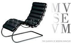 La Chaise Longue di Mies van der Rohe della collezione Museum di Alivar