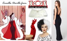 DIY Cruella Deville costume by Rock Mosaic