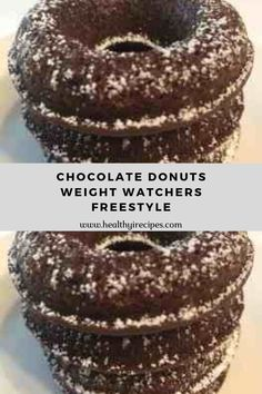 These donuts were perfect for my craving. I made them with sugar free brownie mix…so they aren't technically donuts. Weight Watchers Enchiladas, Weight Watchers Cake, Weight Watcher Dinners, Weight Watchers Chicken, Weight Watchers Desserts, Easy Bread Recipes, Donut Recipes, Ww Recipes, Light Recipes