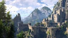 Download The Witcher 3 Game Fantasy Castle HD 1920x1080