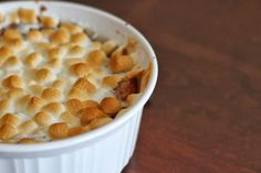 Sweet Potato Casserole with Marshmallows is a holiday staple. Check out this simple recipe that's perfect for holiday gatherings.