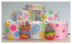 EGGCEPTIONAL EGGS PASTEL Ribbon Mix - Oh My Gosh Goodies Ribbon by omygoshgoodies on Etsy https://www.etsy.com/listing/175157870/eggceptional-eggs-pastel-ribbon-mix-oh