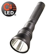 This long-range flashlight shines farther at 400 meters with 40,000 candela.Multi-function, push-button tactical tail switch lets you select three lighting modes and strobeThree modes and strobe: - High for a far-reaching beam - 275 lumens
