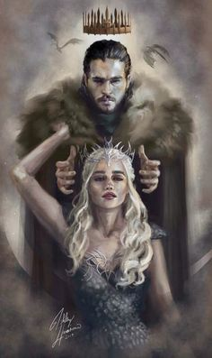Queen and King.