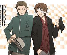 Tags: Anime, Durarara!!, Kadota Kyouhei, Rokujo Chikage, Yun (Neo) They are such cute friends