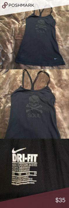 Soul cycle Tank Worn once soul cycle x Nike tank size xs soulcycle Tops Tank Tops