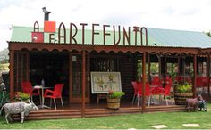 ArteFunto in Clarens, Free State, South Africa Free State, Activities To Do, Small Towns, South Africa, Adventure, Outdoor Decor, Afrikaans, Wings, Live