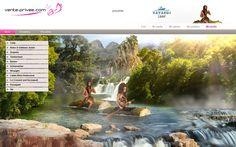 Nuestros webdesigners se declaran fans del rafting con esta portada tan divertida para el Kayakus camp.  #venteprivee #VPSummerCamp #Webdesign #Rafting