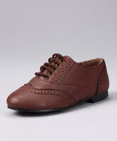 Take a look at this Cognac Shoe by CA Collection by Carrini on #zulily today!